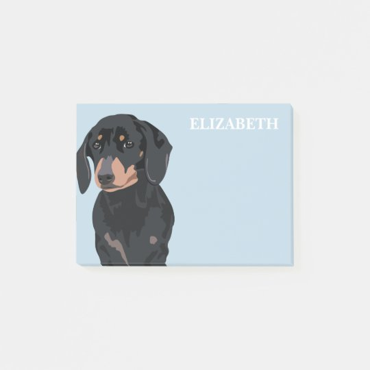 Dachshund | Cute Sausage Dog Post-it Notes