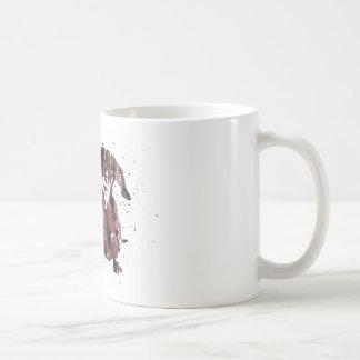 Dachshund, Dachshund dog watercolor print, dog Coffee Mug