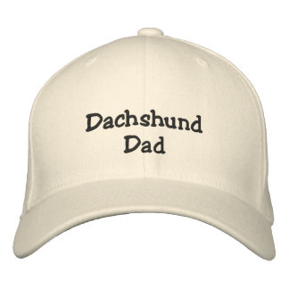 Dachshund Dad Embroidered Hat