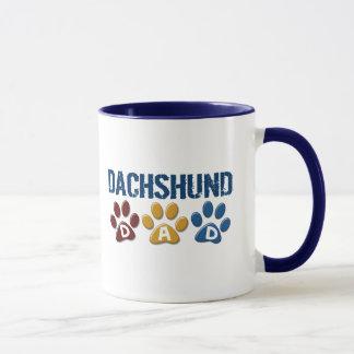 DACHSHUND Dad Paw Print 1