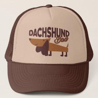 Dachshund Dad Trucker Hat