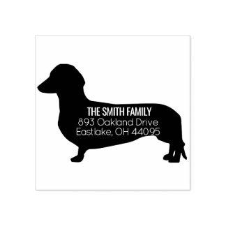 Dachshund Dog Address Stamp