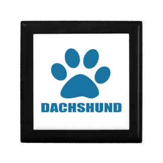 DACHSHUND DOG DESIGNS GIFT BOX