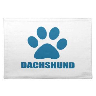 DACHSHUND DOG DESIGNS PLACEMAT