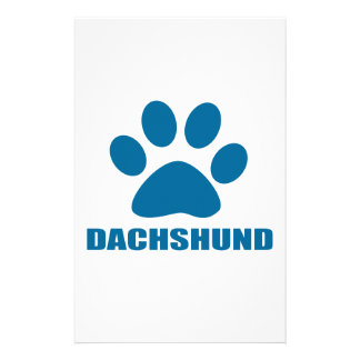 DACHSHUND DOG DESIGNS STATIONERY