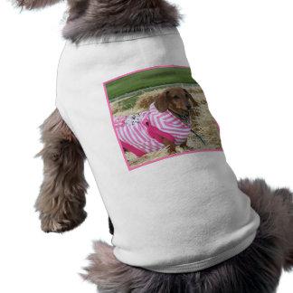Dachshund dog doggie tee shirt