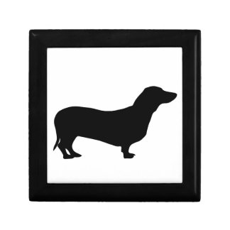 Dachshund dog gift box jewelry box trinket box