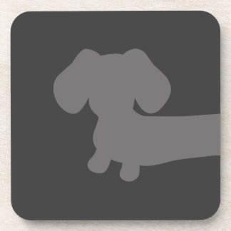 Dachshund Drink Coasters (front half) Part I