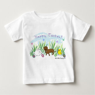 dachshund easter baby T-Shirt