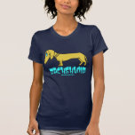 Dachshund funny t-shirt design