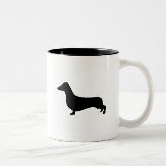 Dachshund Gear Two-Tone Coffee Mug