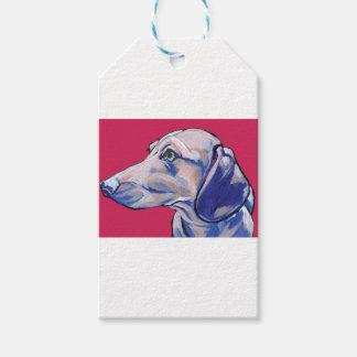dachshund gift tags