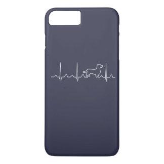 Dachshund Heartbeat iPhone 8 Plus/7 Plus Case