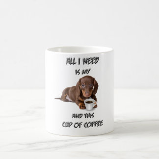 Dachshund in my cup
