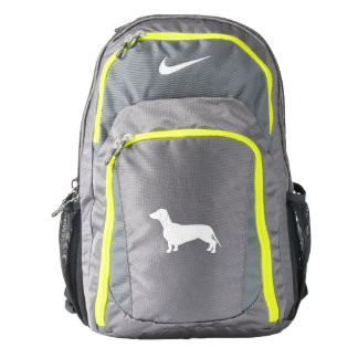 Dachshund in Silhouette Backpack