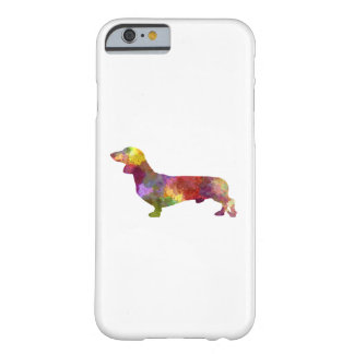Dachshund in watercolor 2 barely there iPhone 6 case