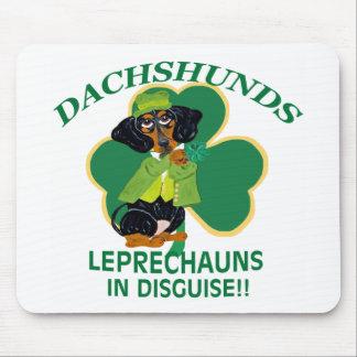 Dachshund Leprechaun Mouse Pad