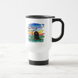 Dachshund (Lg Haired black -tan) - Sun Glow Mugs