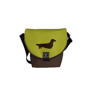 Dachshund (Long Haired) Messenger Bag