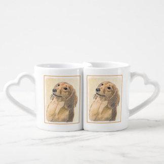 Dachshund (Longhaired) Coffee Mug Set