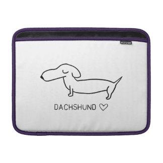 Dachshund Love Sleeve For MacBook Air