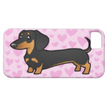 Dachshund Love (smooth coat) iPhone 5 Cases