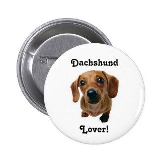 Dachshund Lover! 6 Cm Round Badge