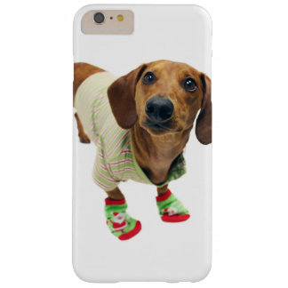 Dachshund - merry christmas - cute dog barely there iPhone 6 plus case