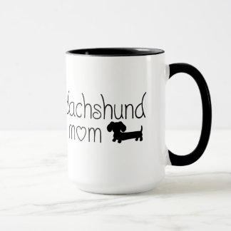 Dachshund Mom Mug for Wiener Dog Lovers