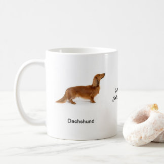 Dachshund Mug - With two images and a motif