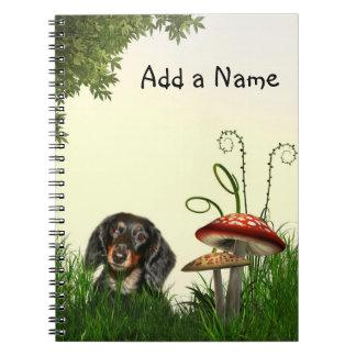 Dachshund Note Book