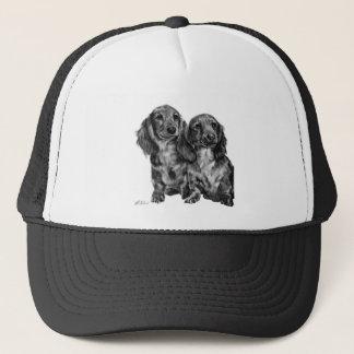 Dachshund Pair Trucker Hat