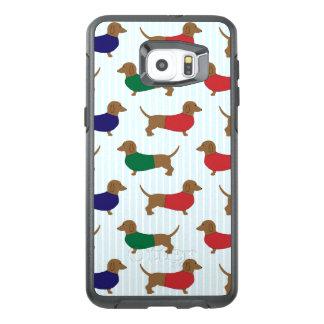 Dachshund Pattern Otterbox Samsung S6 Plus Edge