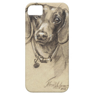 Dachshund portrait iPhone 5 case