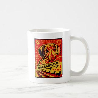 Dachshund Propaganda Coffee Mugs