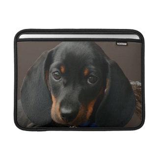 Dachshund puppy MacBook sleeve