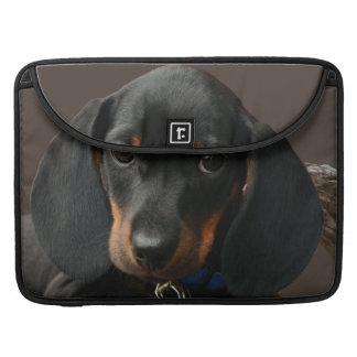 Dachshund puppy sleeve for MacBooks