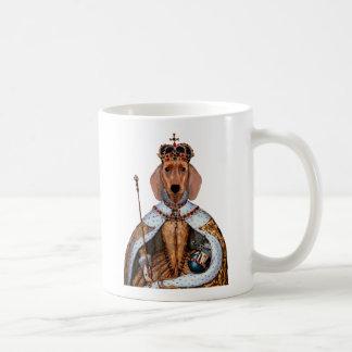 Dachshund Queen 2 Basic White Mug