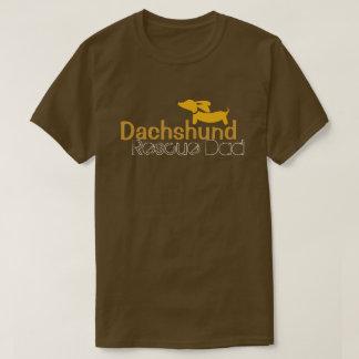 Dachshund Resue Dad Wiener Dog Shirt