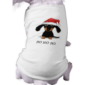 Dachshund Santa Clause - Funny Christmas Dog Shirt