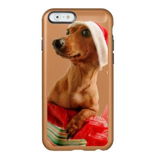 Dachshund santa - santa dog - dog gifts incipio feather® shine iPhone 6 case