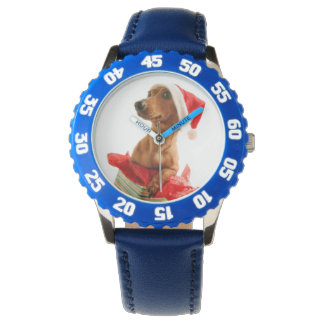 Dachshund santa - santa dog - dog gifts watch