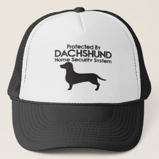 Dachshund Security Trucker Hat