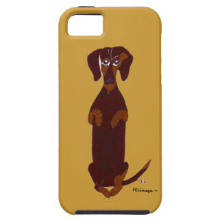 Dachshund Sidney IPhone 5 Case