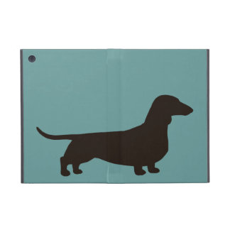 Dachshund Silhouette Cover For iPad Mini