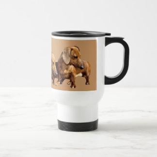 Dachshund Smoothie Travel Mug