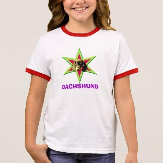 Dachshund Star Ringer T-Shirt