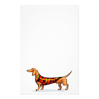 Dachshund Stationary Stationery