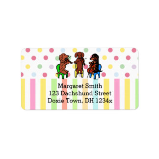Dachshund String Trio Label