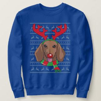 dachshund T-Shirt Funny Reindeer Christmas Gift